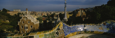 Parc Guell, Barcelona, Catalonia, Spain