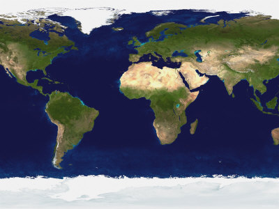 The Blue Marble: Land Surface ...