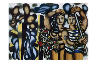 Adam and Eve, c.1935, Fernand Leger
