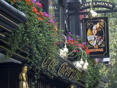 The George Pub, Strand, London ...