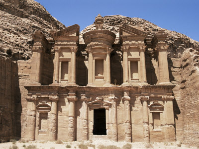 Ad-Dayr (The Monastery), Petra, Unesco World Heritage Site, Jordan, Middle East