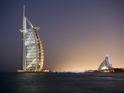 The Iconic Symbol of Dubai, the Burj Al Arab, the World