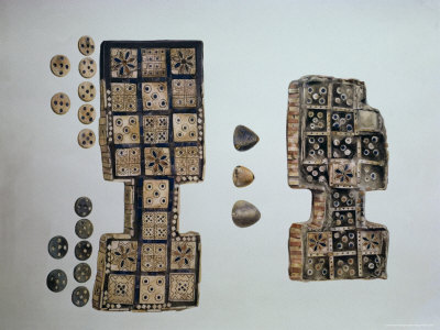 Game Boards from Excavations at Ur, Iraq, Middle East