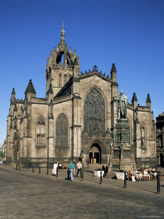 St. Giles Cathedral, Edinburgh, Lothian, Scotland, United Kingdom