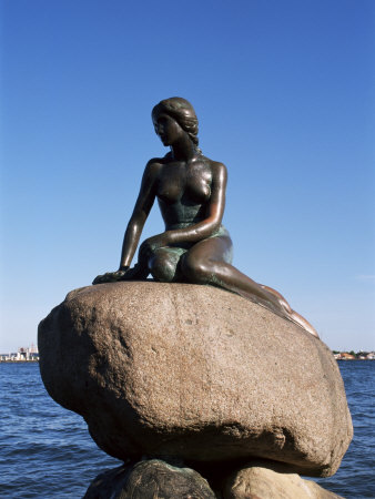 The Little Mermaid, Copenhagen, Denmark, Scandinavia