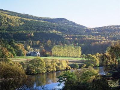 River Tummel, Pitlochry, Tayside, Scotland, United Kingdom,Europe