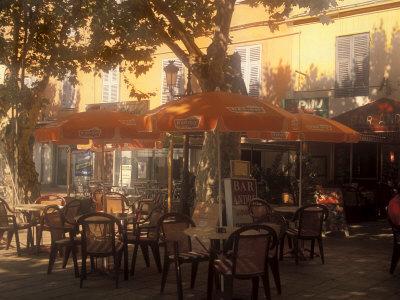 Sidewalk Cafe, Bastia, Corsica ...