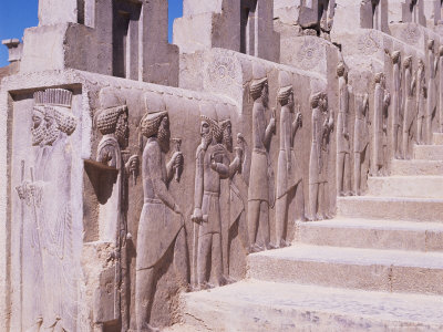 Stairway, Persepolis, Unesco World Heritage Site, Iran, Middle East