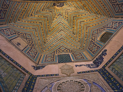 Detail of the Hallway, Sufi Shrine of Gazargah, Herat, Herat Province, Afghanistan