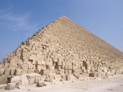 Pyramid of Cheops, Giza, Unesco World Heritage Site, Near Cairo, Egypt, North Africa, Africa