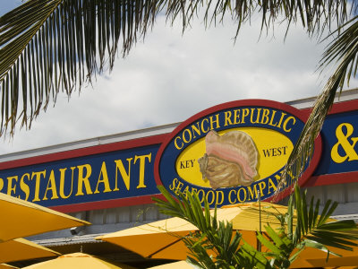 Conch Republic Restaurant Beside the Marina, Key West, Florida, USA