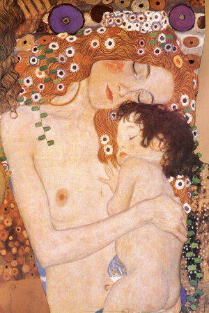 Mother and Child (detail from The Three Ages of Woman), c.1905 Affordable Art Poster