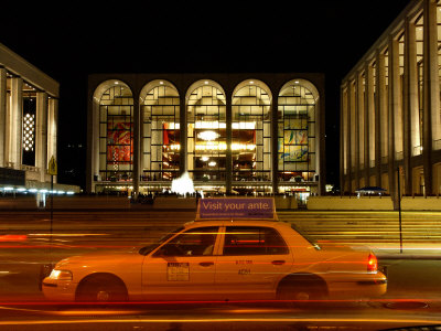 Lincoln Center at Night, Upper West Side, New York City, New York Posters