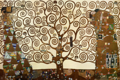 The Tree of Life, Stoclet Frieze, c.1909 Posters