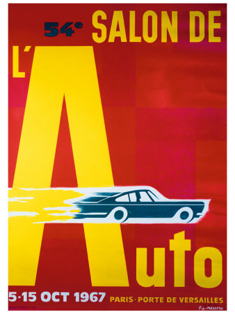 Buy 54e Salon de l'Automobile at AllPosters.com
