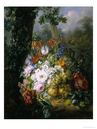 Profusion of Flowers Giclee Print