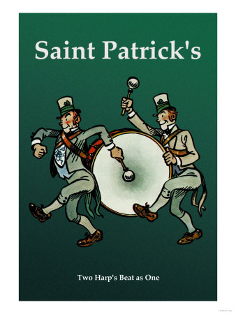 Saint Patrick, Two Harps Beat as One