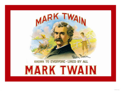 Mark Twain Cigars.