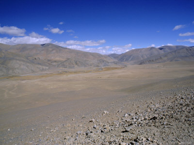 High Plateau South of Dinggye, Tibet, China, Asia Photographic Print