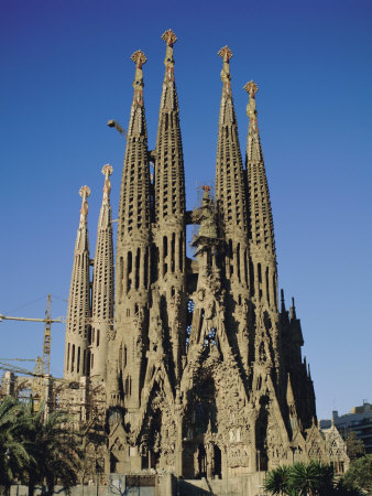 La Sagrada Familia, Gaudi ...