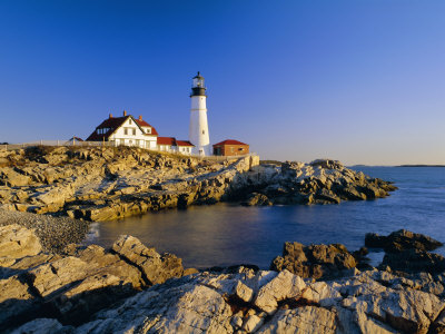 Portland Head Lighthouse, Cape ...