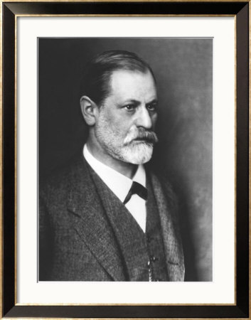 Portrait of Sigmund Freud circa 1900