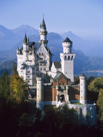 Neuschwanstein Castle, Fussen Bavaria, South Germany