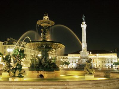 Rossio Square (Dom Pedro Iv Square) ...