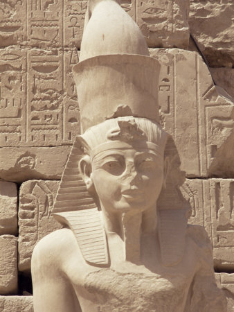 Statue of the Pharaoh Ramses II, Karnak Temple, Thebes, Unesco World Heritage Site, Egypt