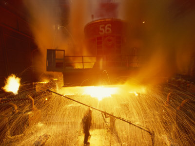 Inside the East-Slovakian Steel Mill