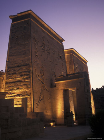 Temple of Philae at Agilka Island, Egypt
