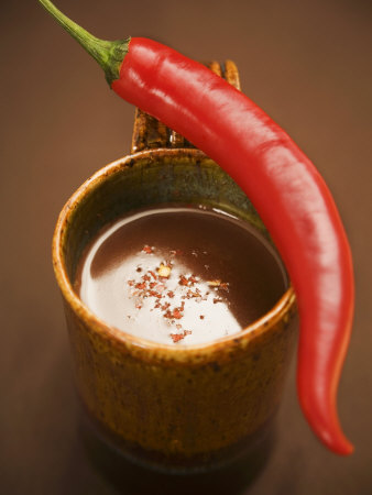 A Mug of Chili Chocolate