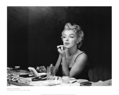 Marilyn Monroe, Back Stage Poster Print