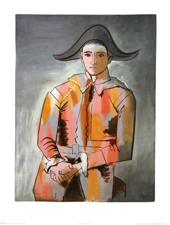 Arlequin, Les Mains Croisee, 1923