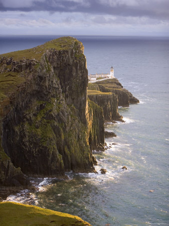 Neist Point Lighthouse, Neist Point, Isle of Skye, Scotland Posters