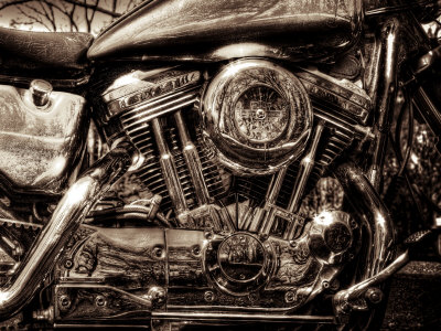 'V-Twin Motorcyle Engine' by Stephen Arens