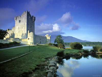 Ross Castle, Killarney, Co. Kerry ...