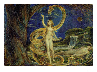 Eve Tempted by the Serpent, William Blake