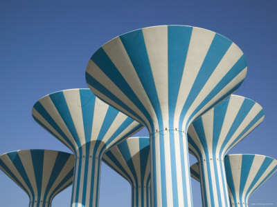 Kuwaiti Water Towers, Sideeq, Kuwait
