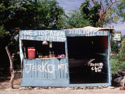 Jerk Chicken Stand, Negril, Jamaica