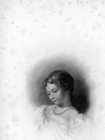 Portrait of Ada Byron, Countess of Lovelace