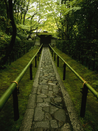Zen Path to Garden at Koto-In, by Michael S. Yamashita. Buy at Art.com