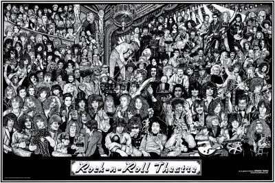 Rock & Roll Theatre Poster