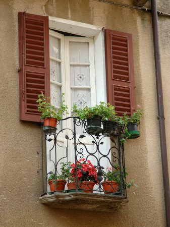 Window Detail, Lake Orta, Orta, Italy