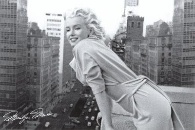 Marilyn Monroe - Balcony Poster