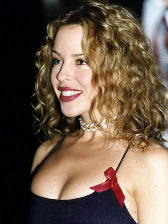 Kylie Minogue at the Brit Awards 199