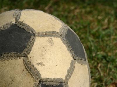 Buy Worn Soccer Ball at AllPosters.com