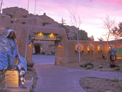 Loretto Inn, Santa Fe, New Mexico, USA