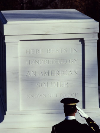 Tomb of the Unknown Soldier, Arlington National Cemetery, Arlington, Virginia, USA