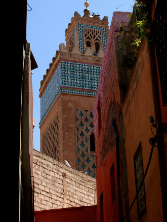Kasbah Mosque, Marrakesh, Morocco